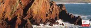 Varied coastline wide sandy beaches & rugged cliffs