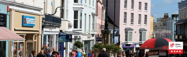Pretty seaside town of Tenby
