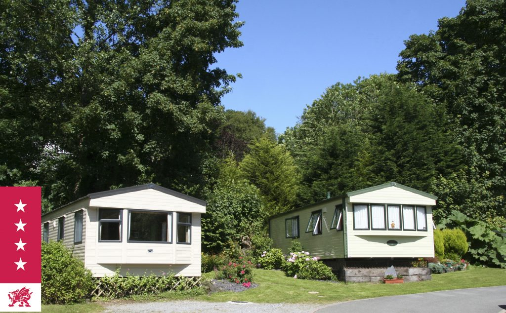 Holiday Caravans at Mill House Caravan Park close to beach and pub