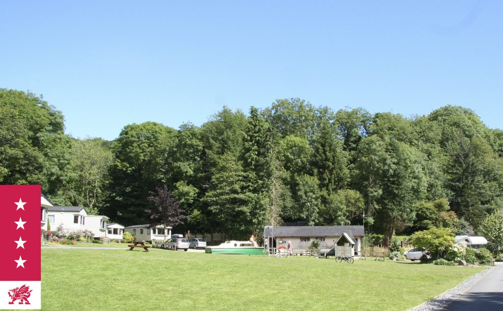 Mill House Caravan Park - the one with the boat in the play area